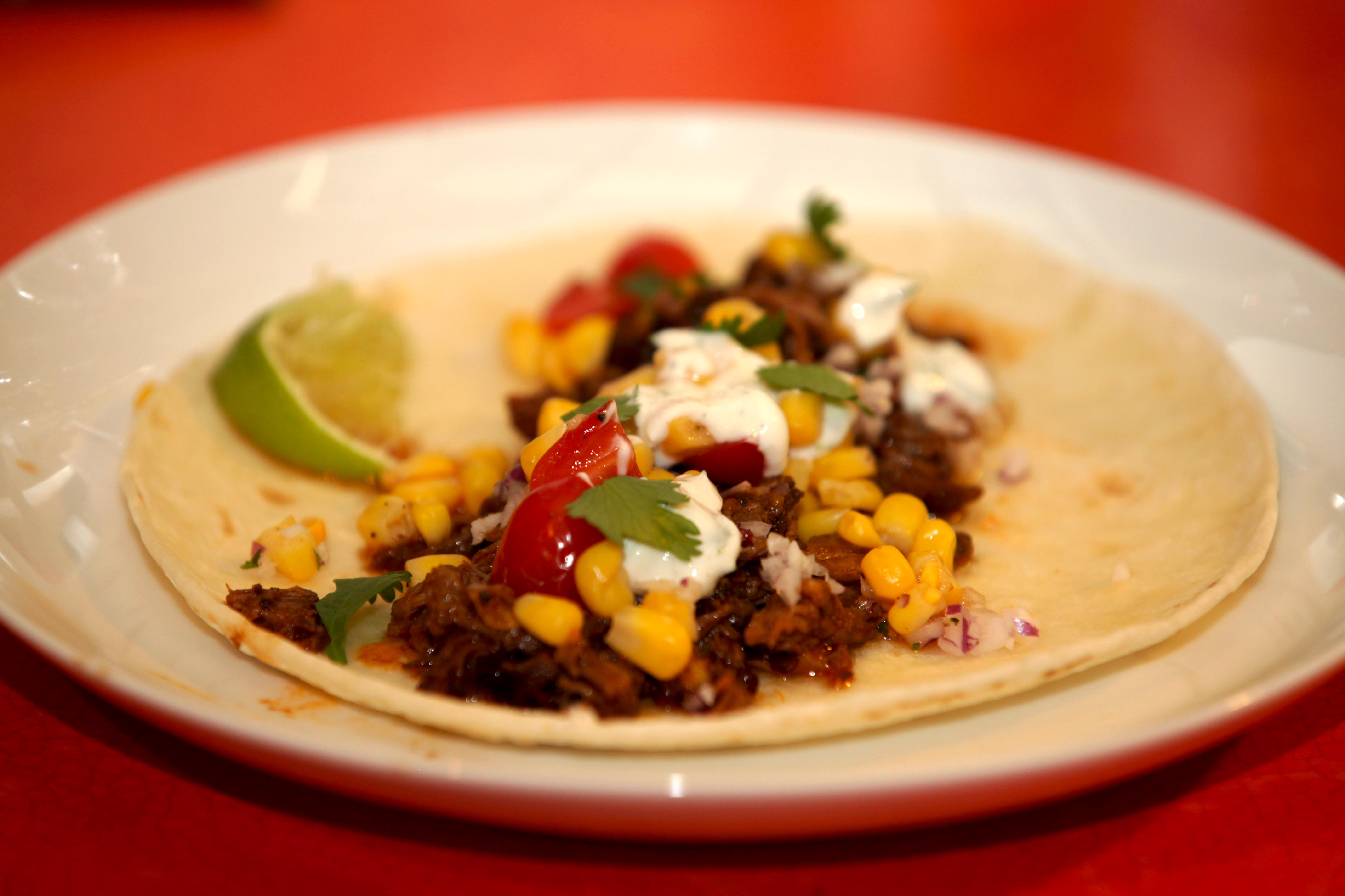 Smoky Beef Tacos - The Middle of Here