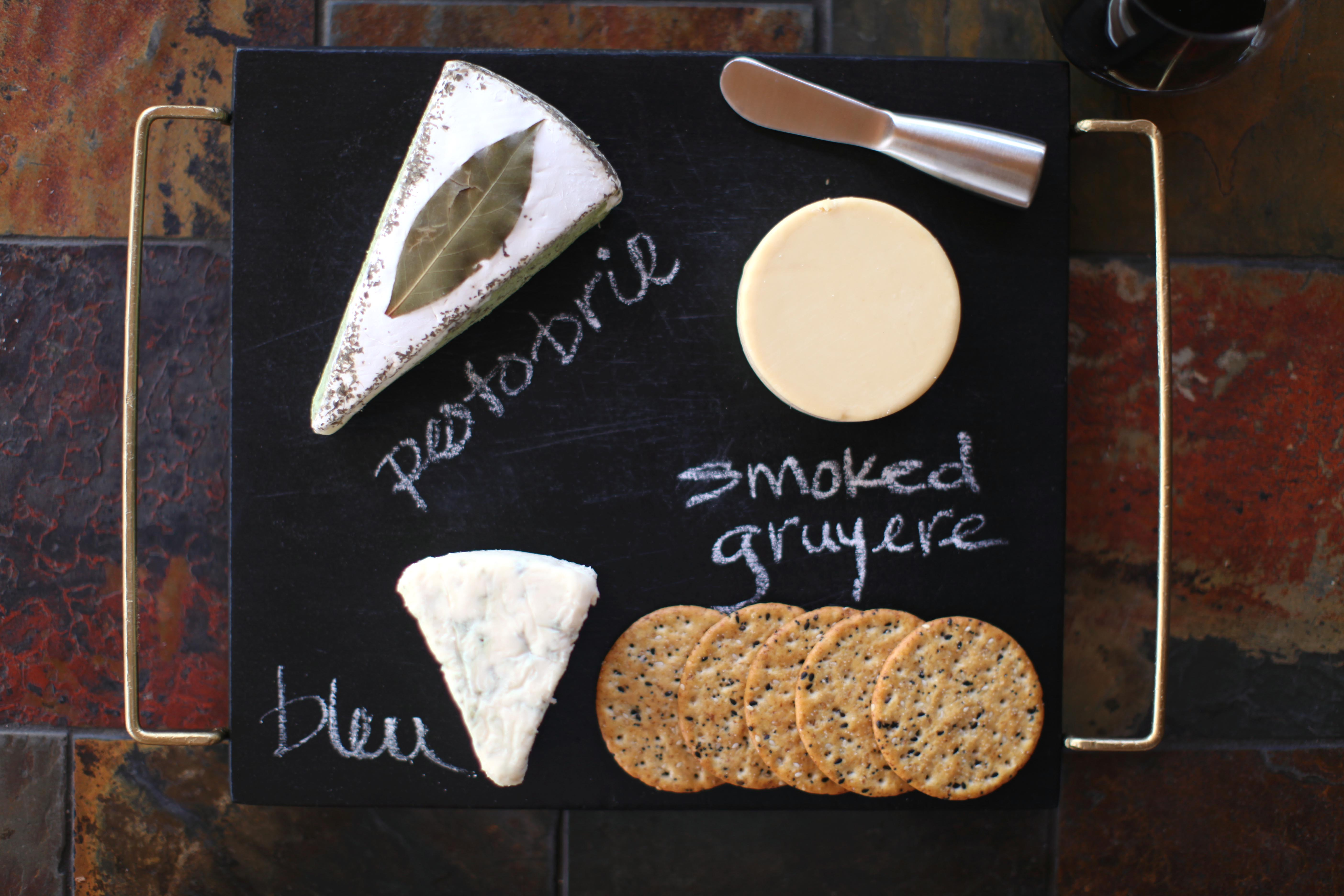 ... diy chalkboard cheese platter leaftv · next to each cheese write the name of it ... & Chalkboard Cheese Plate - Swiss Cheeses
