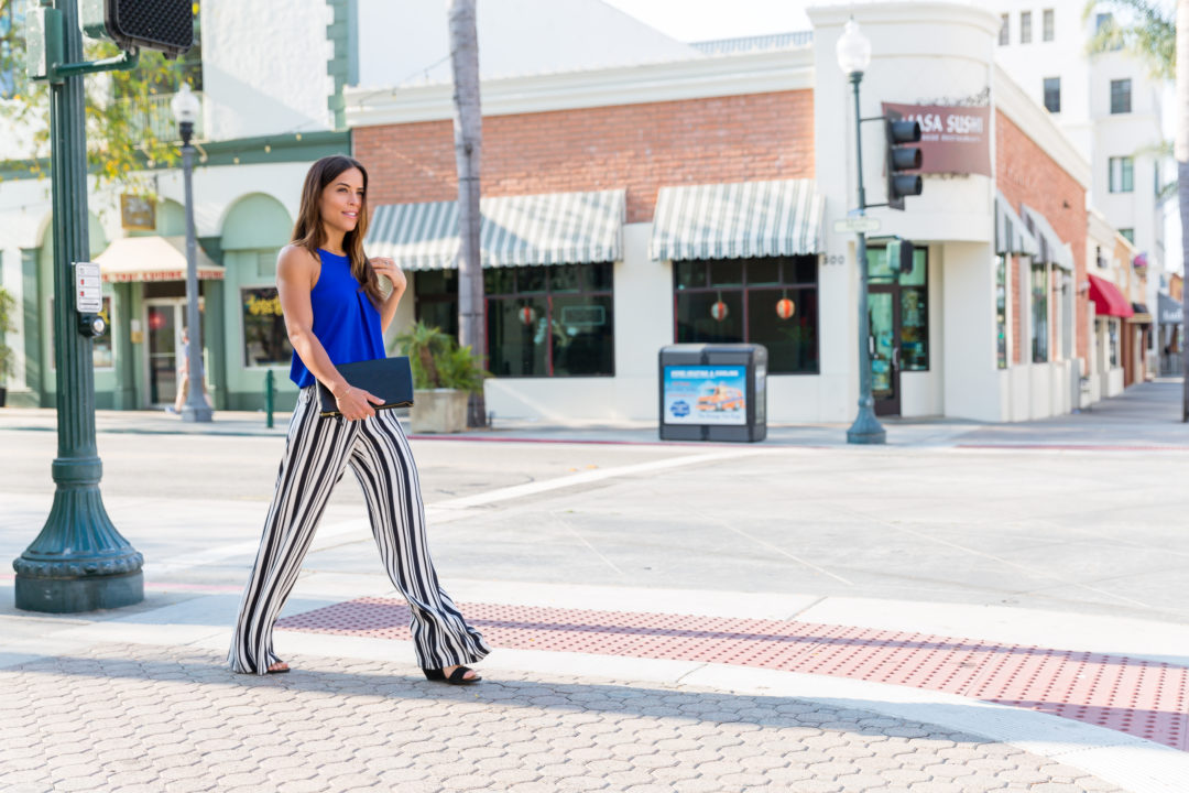 fa55965b1 Black and White Statement Pants - The Middle of Here
