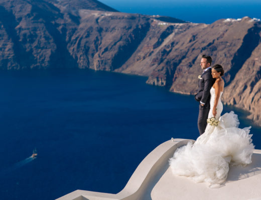 Sams Santorini Wedding